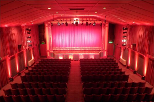 Leiston Film Theatre screen